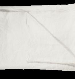 Bed & Philosophy Nappe de table Lin Lavé Blanc 210x310cm
