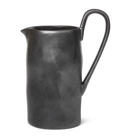 Ferm Living Cruche Flow Black H 22 cm