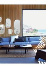 M Nuance Miroir extra plat biseauté - Forme aléatoire carré 44x55 cm
