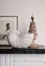 Ferm Living Vase Shell Blanc Cassé