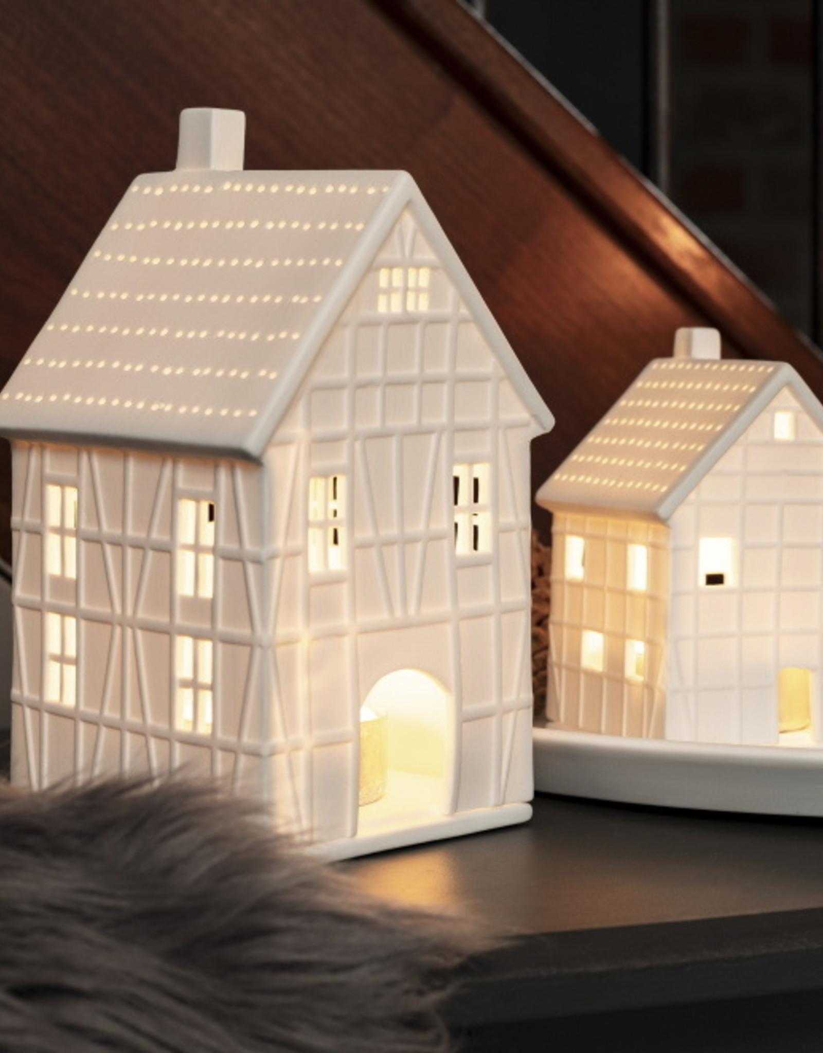 Rader Petit photophore maison à colombages