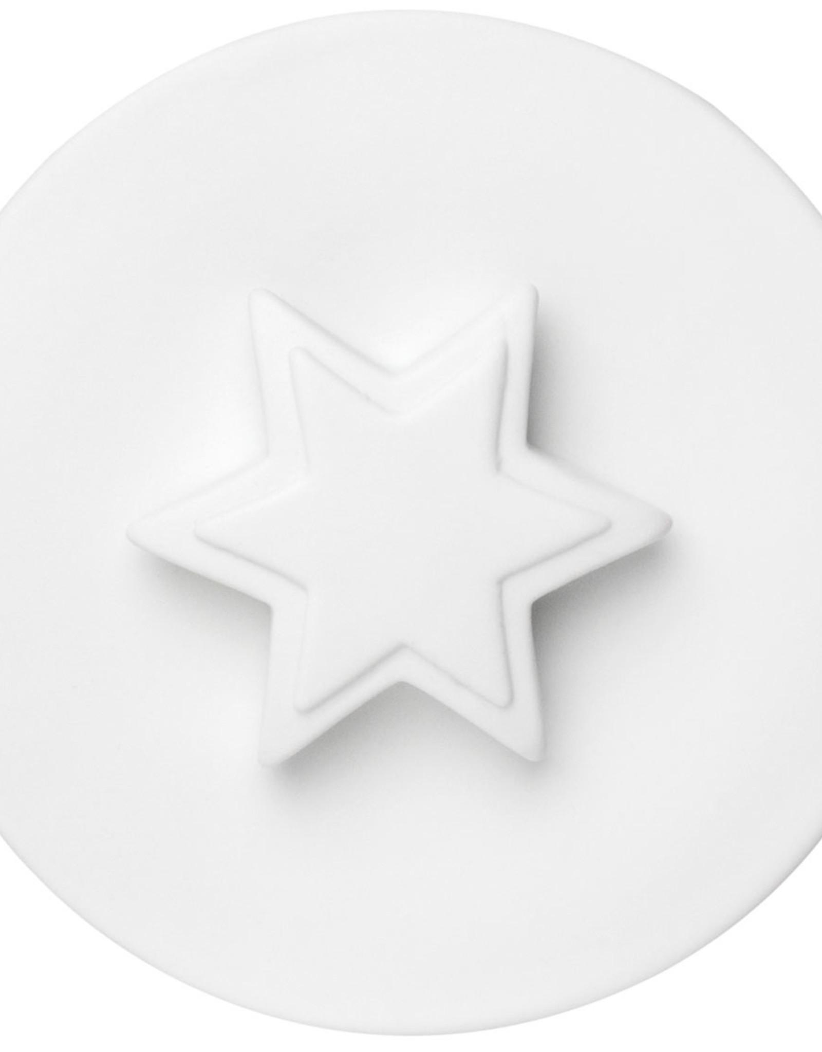 Rader Lovely Glass Jar Star