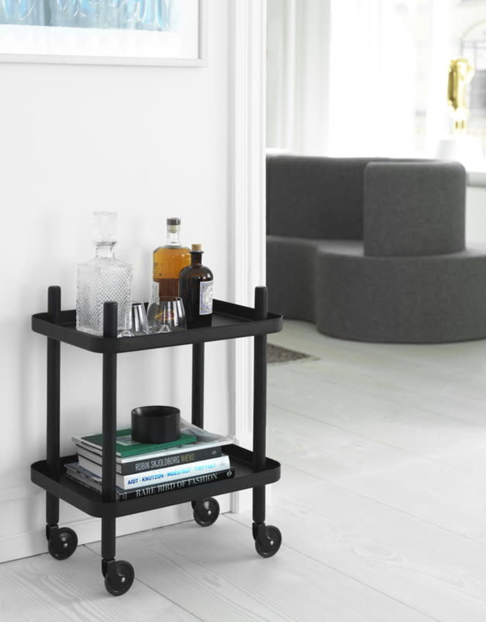 Normann Copenhagen Block Table Black/Black