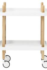 Normann Copenhagen Block Table White