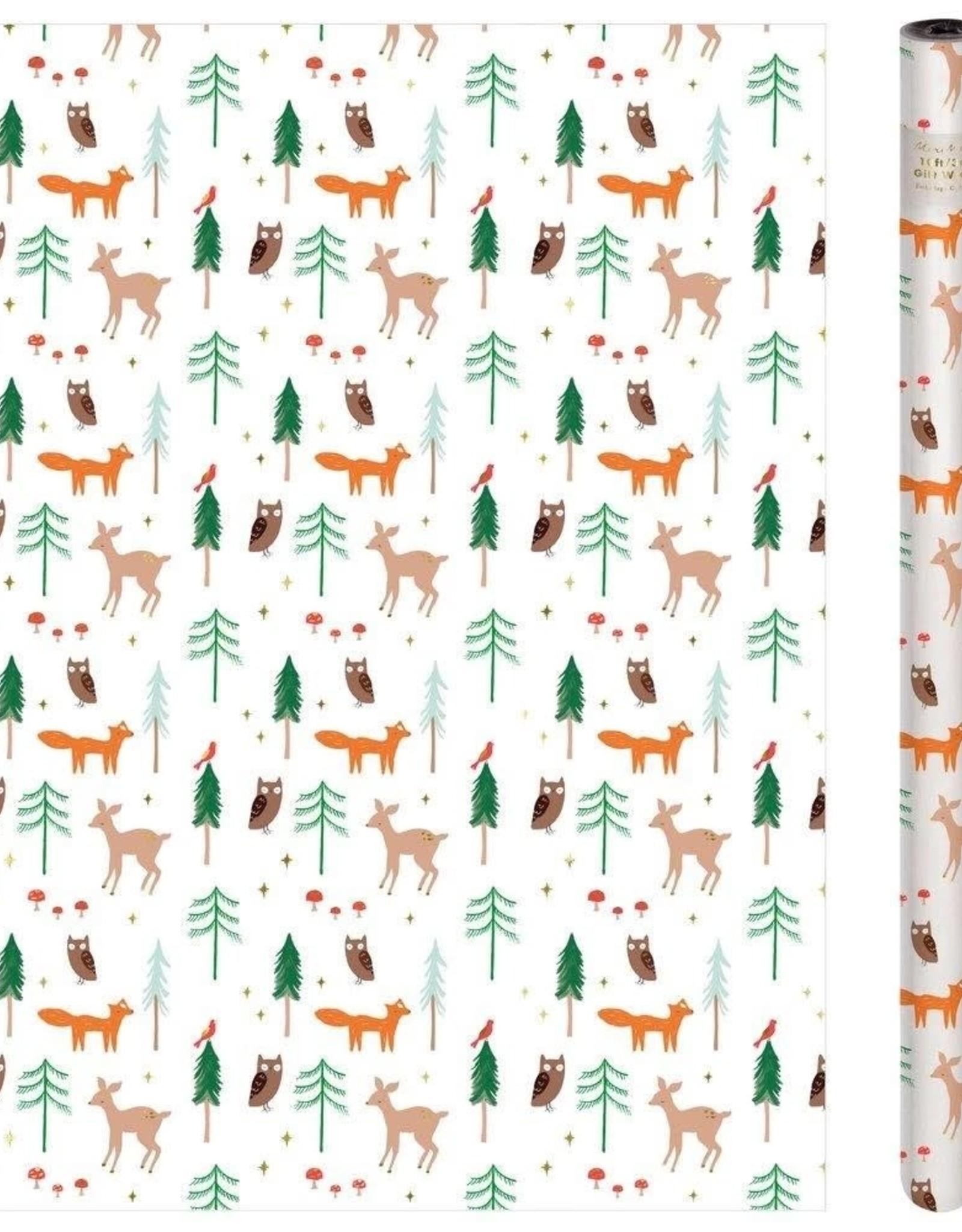 Meri Meri Rouleau de Papier Cadeau Woodland