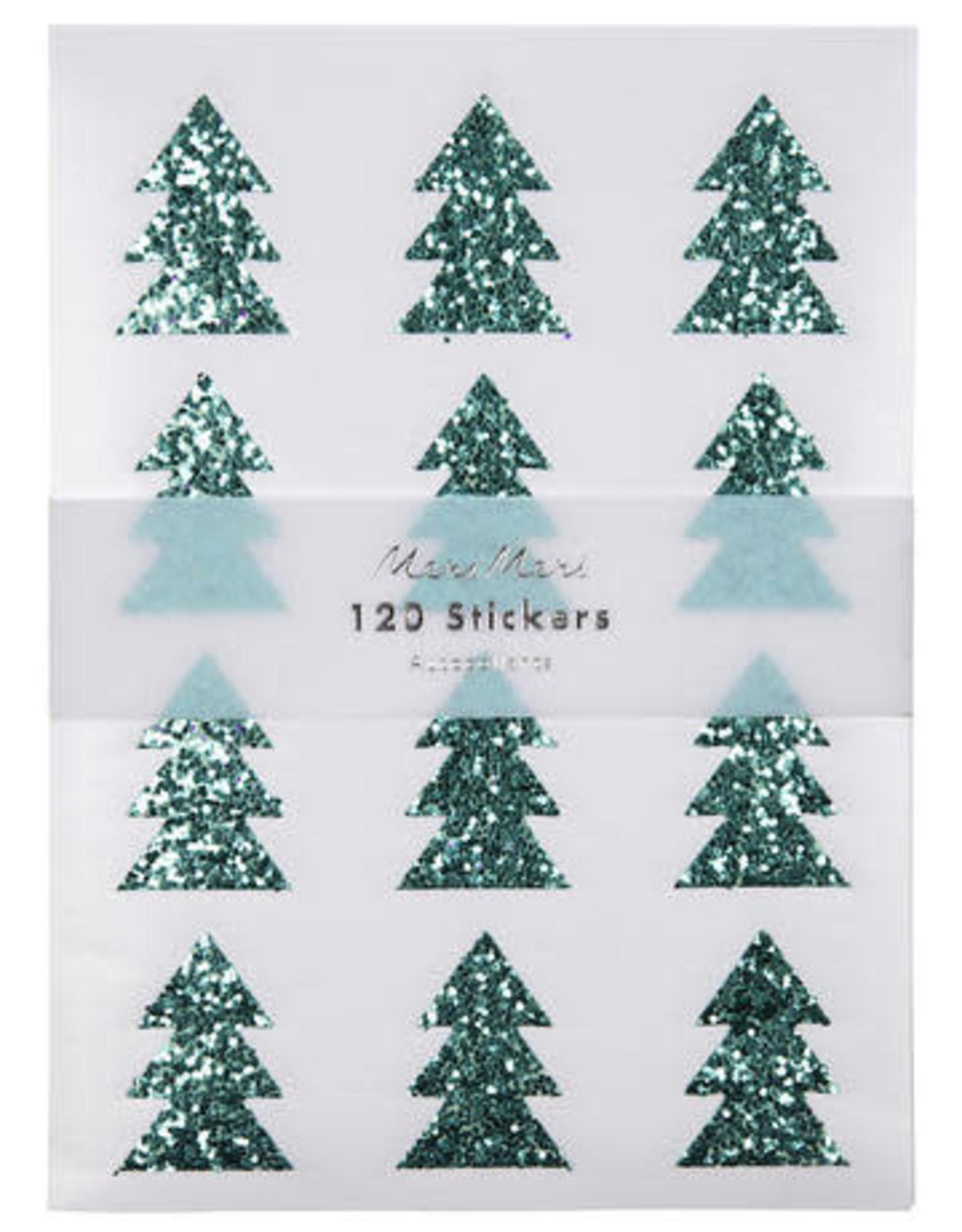 Meri Meri Stickers à paillettes Sapin