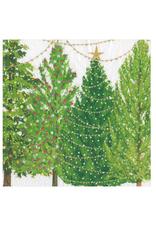 Petites serviettes papier Christmas Tree with Lights