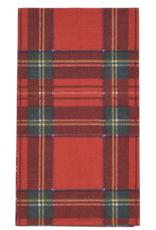 Serviettes rectangle papier Royal Plaid