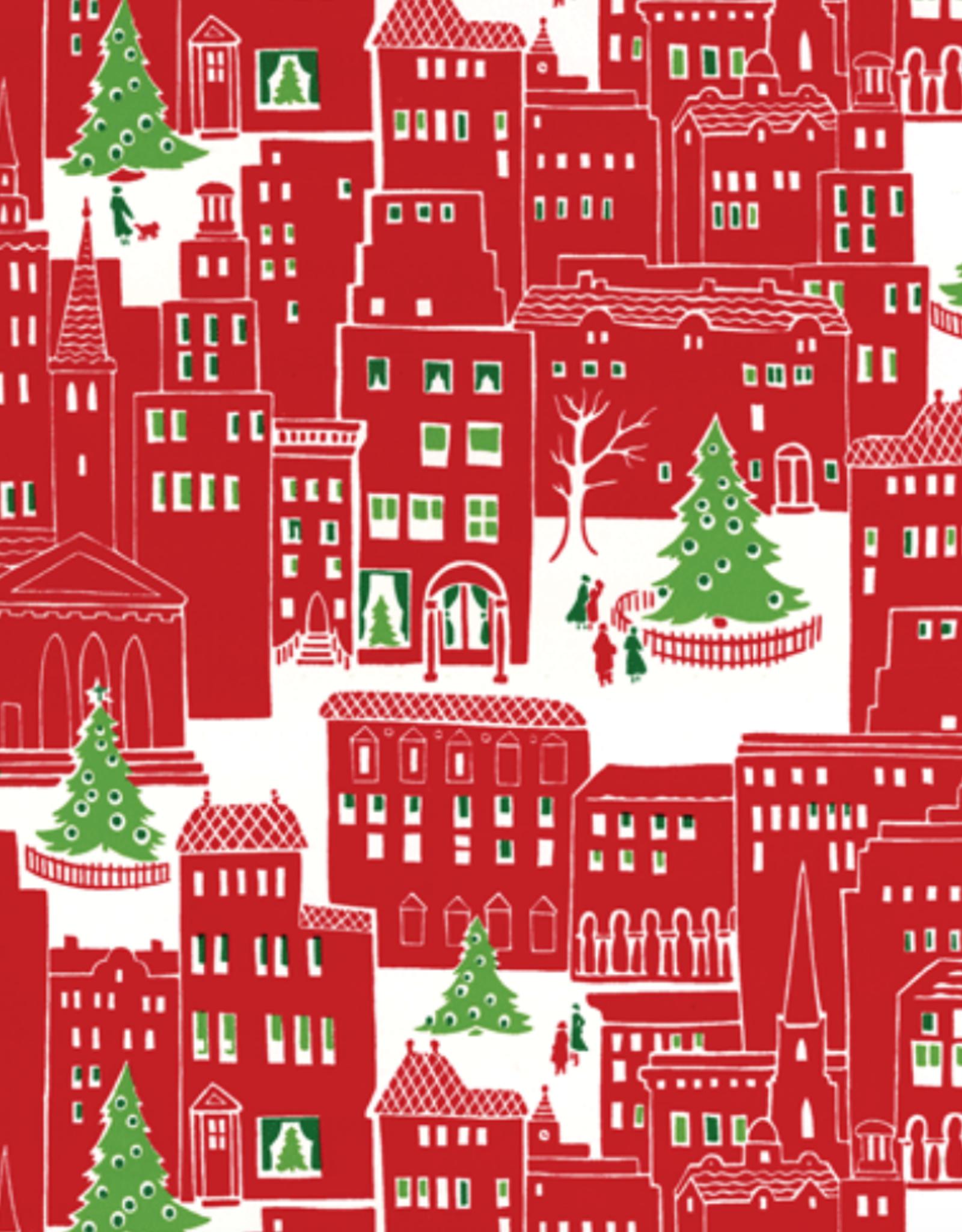 Rouleau de papier cadeau Christmas City