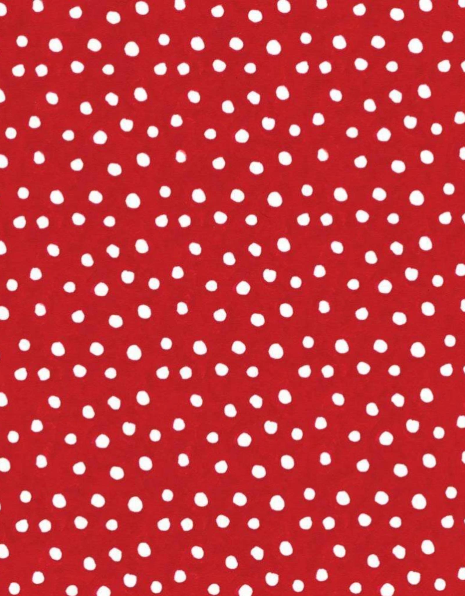 Rouleau de papier cadeau Small Dots in Red
