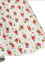 Rouleau de papier cadeau Busy Santa