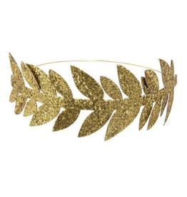Meri Meri 8 couronnes de feuilles dorées