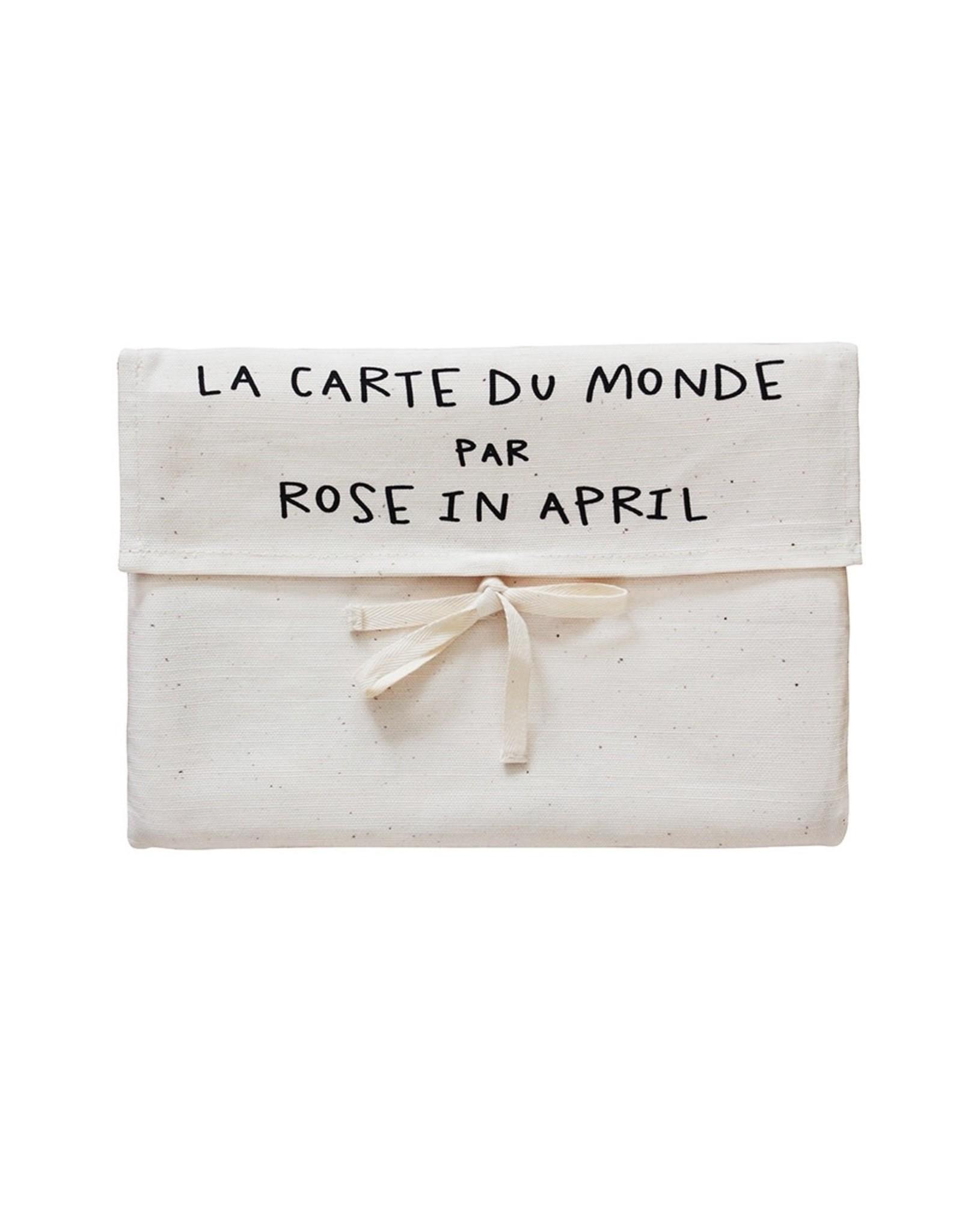 Rose in April La carte du monde par Rose in April