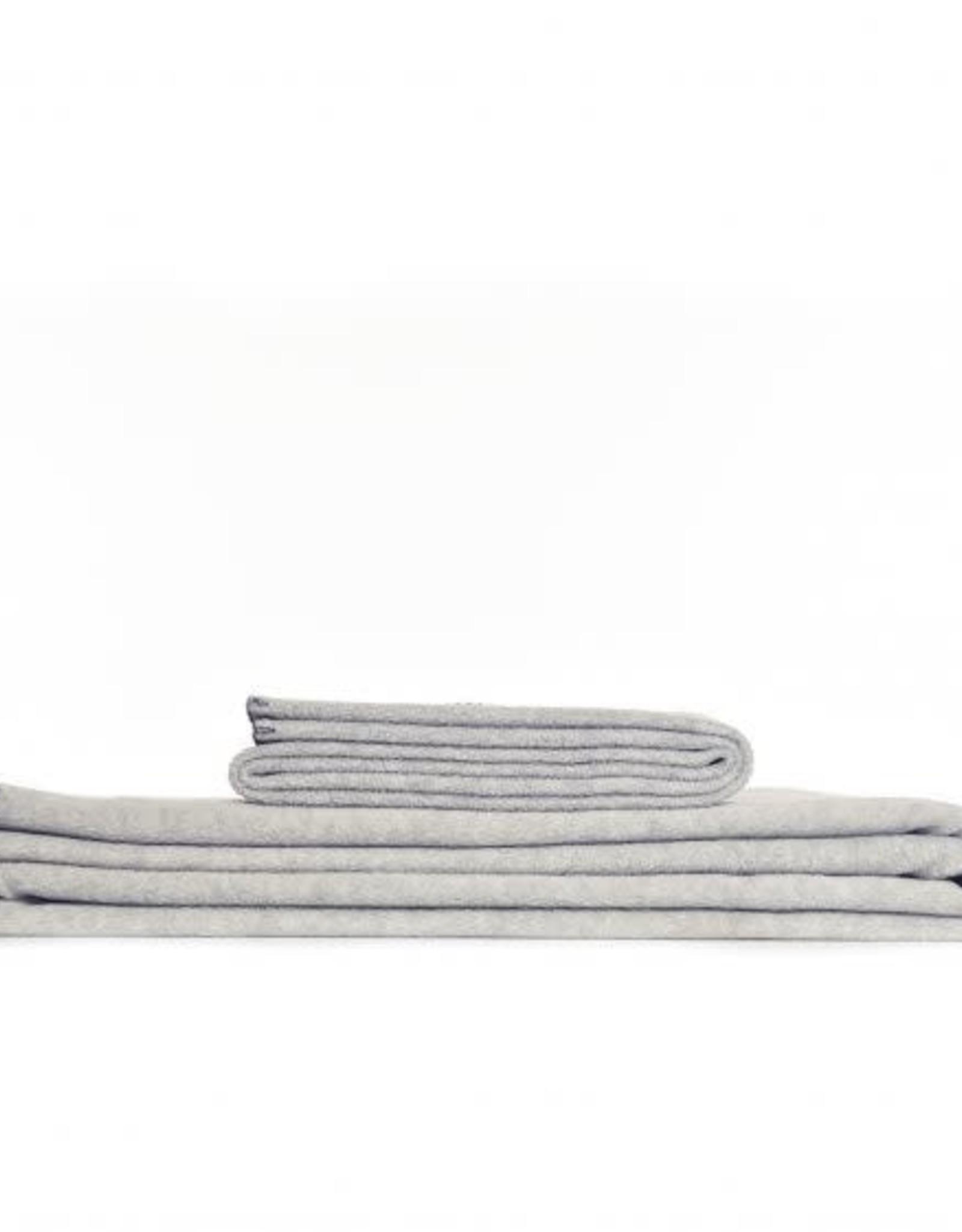 Tweedmill Textiles Plaid Polaire Gris Clair Large 145x200 cm