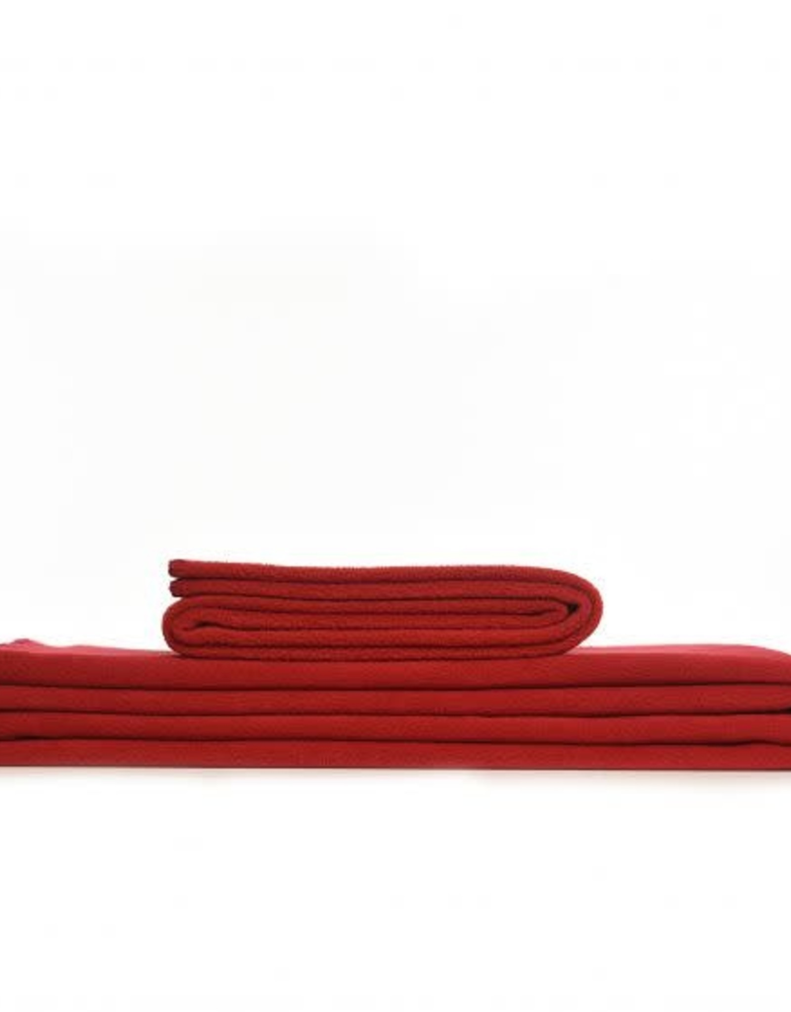 Tweedmill Textiles Plaid Polaire Rouge Large 145x200 cm