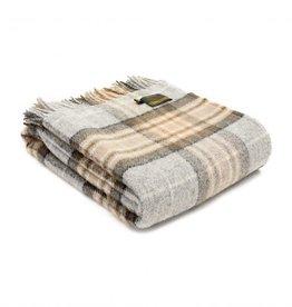 "Tweedmill Textiles Plaid tartan en pure laine  ""McKellar"" 150 x 183 cm"