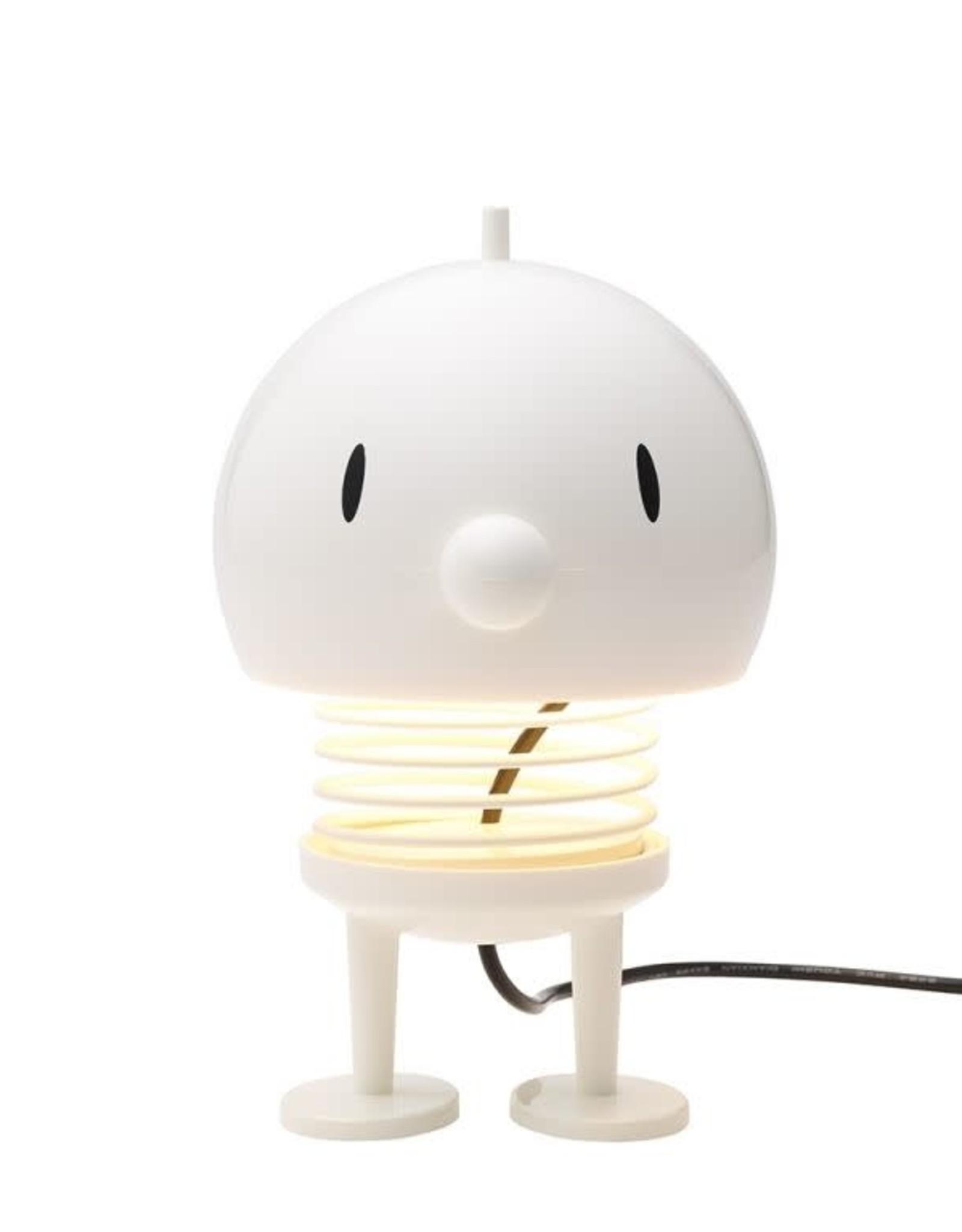 Hoptimist Lampe figurine blanche Bumble Hoptimist