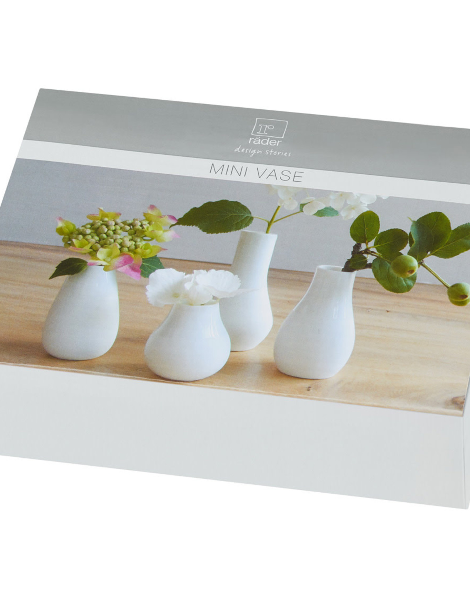 Rader Set de 4 Mini Vases