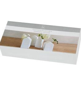 Rader Minis Vases porcelaine Maisons (set de 4)
