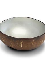 noya Bol en noix de coco Silver Metallic Paint