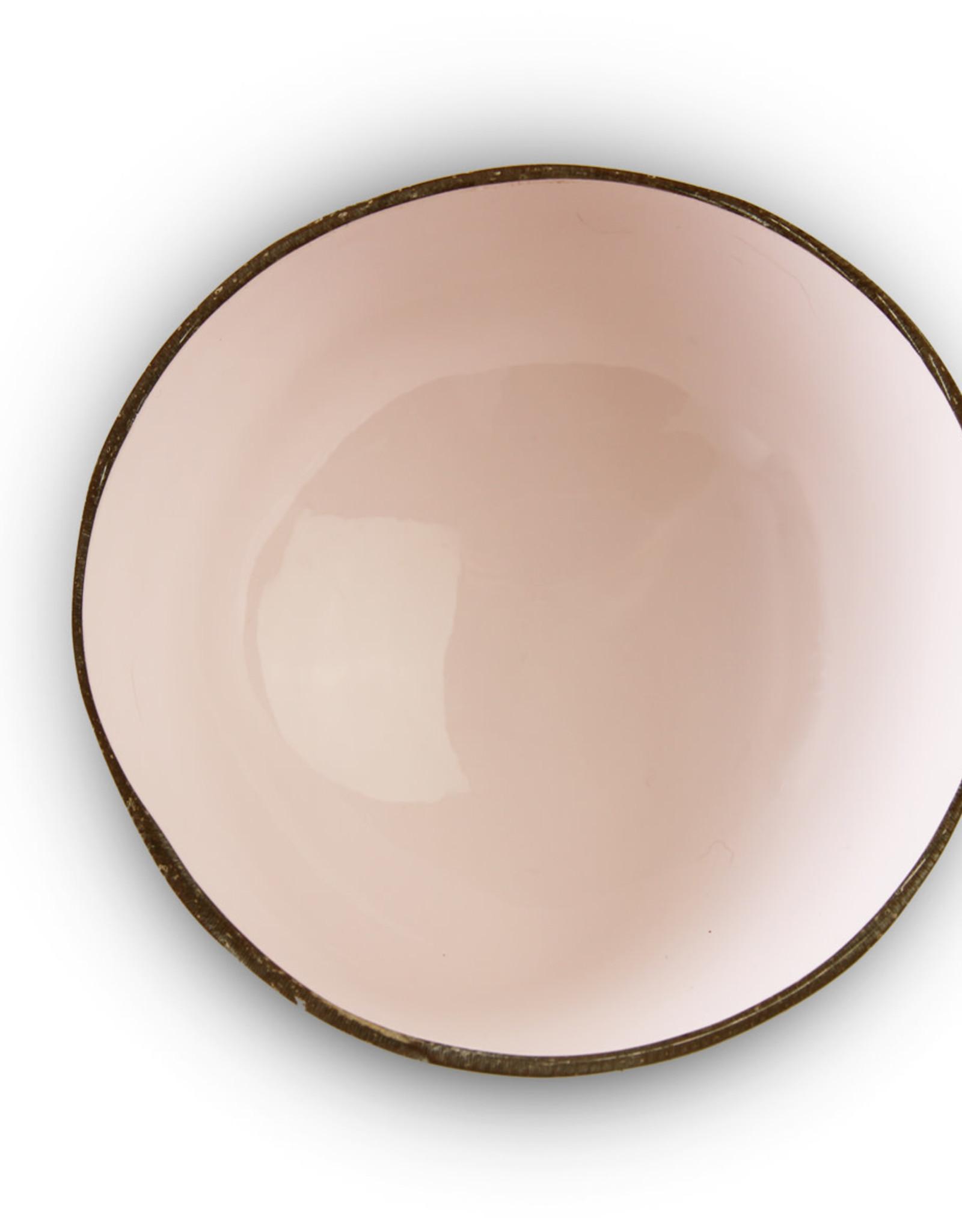 noya Bol en noix de coco Plain Soft Pink