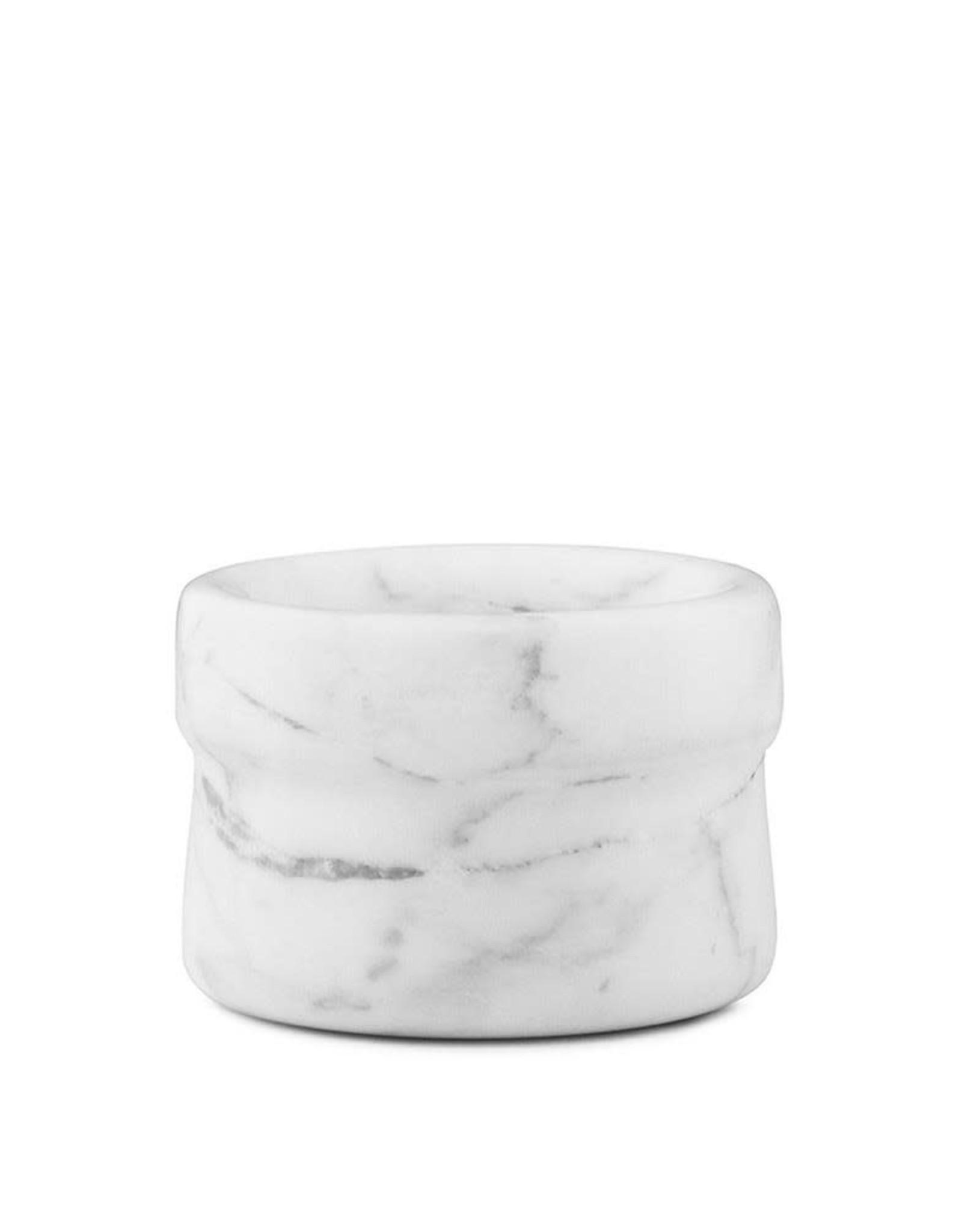 Normann Copenhagen Poivrière / salière Craft en marbre Blanc