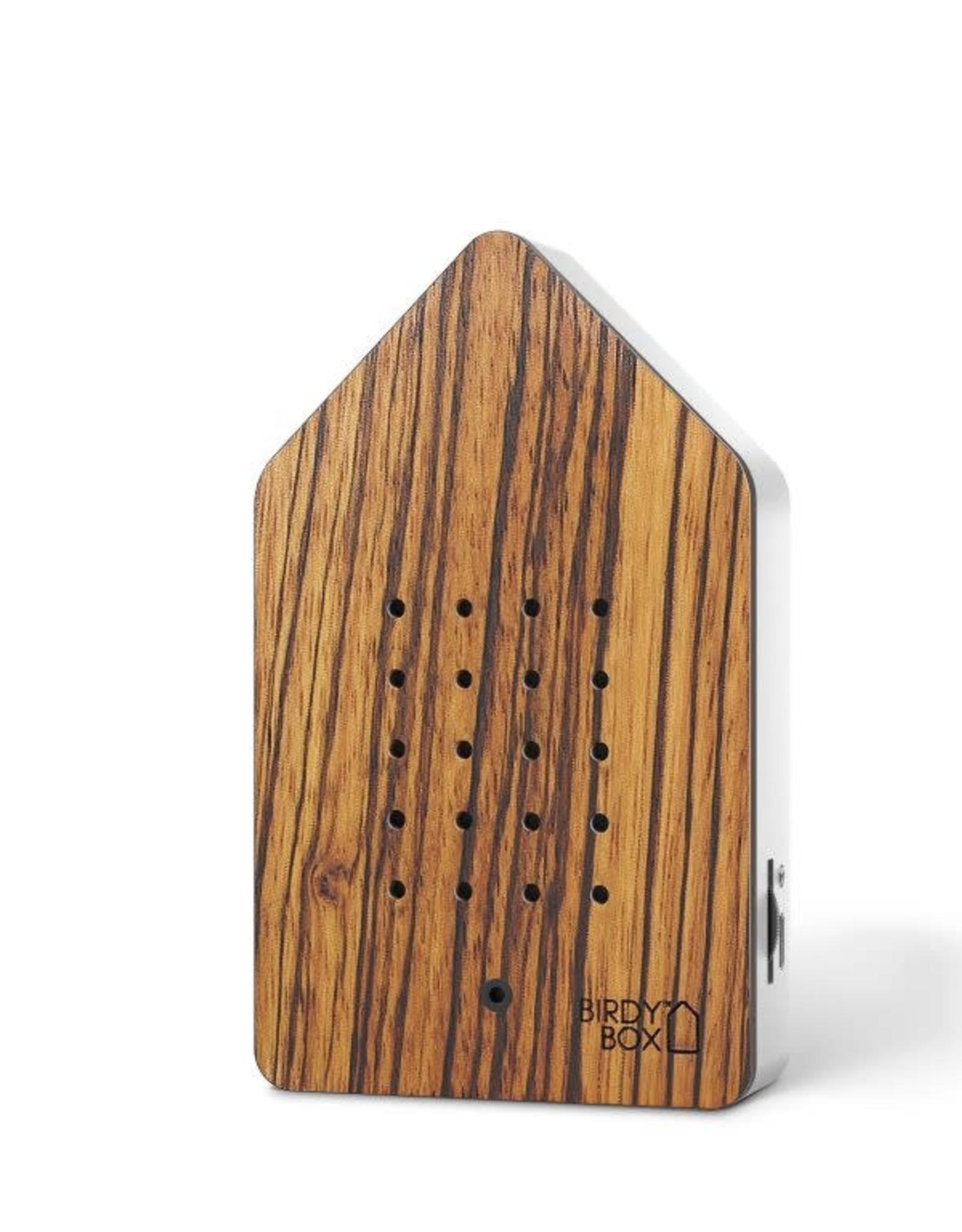 relaxound Birdybox bois de Zebrano