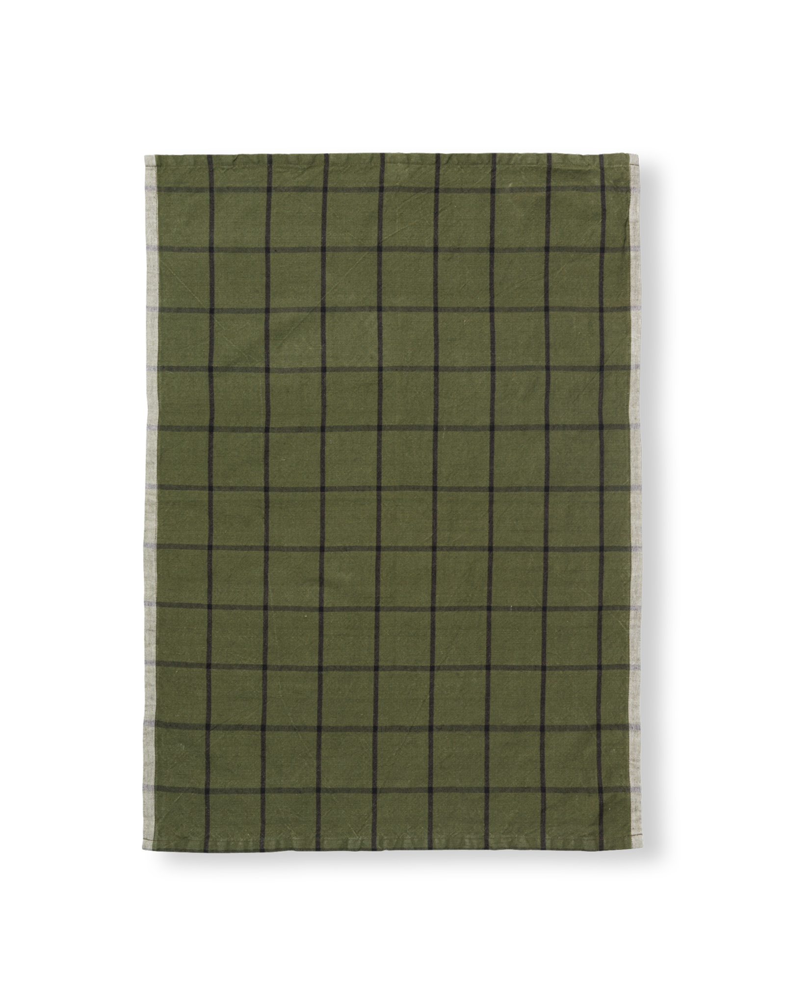 Ferm Living Torchon Hale Vert-Noir