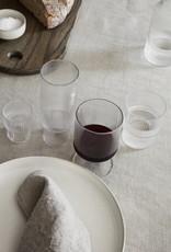 Ferm Living Petits verres Ripple transparents set de 4