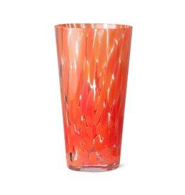Ferm Living Vase Casca rouge coquelicot