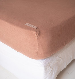 Bed & Philosophy Drap housse Chambers  Betterave