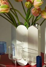 Hay Vase Arcs blanc