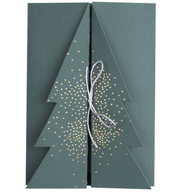 "Rader Carte de Noël ""sapin"""