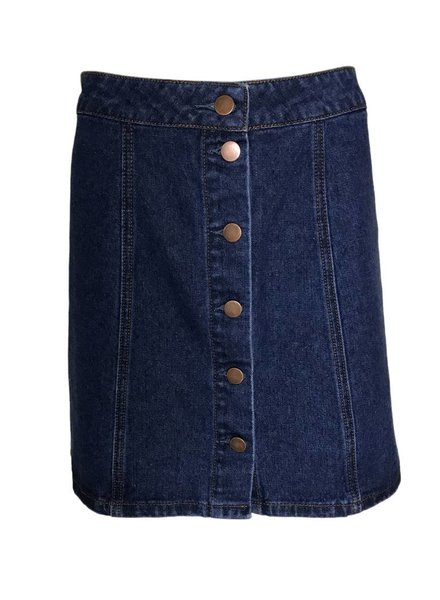 24COLOURS JEANS SKIRT
