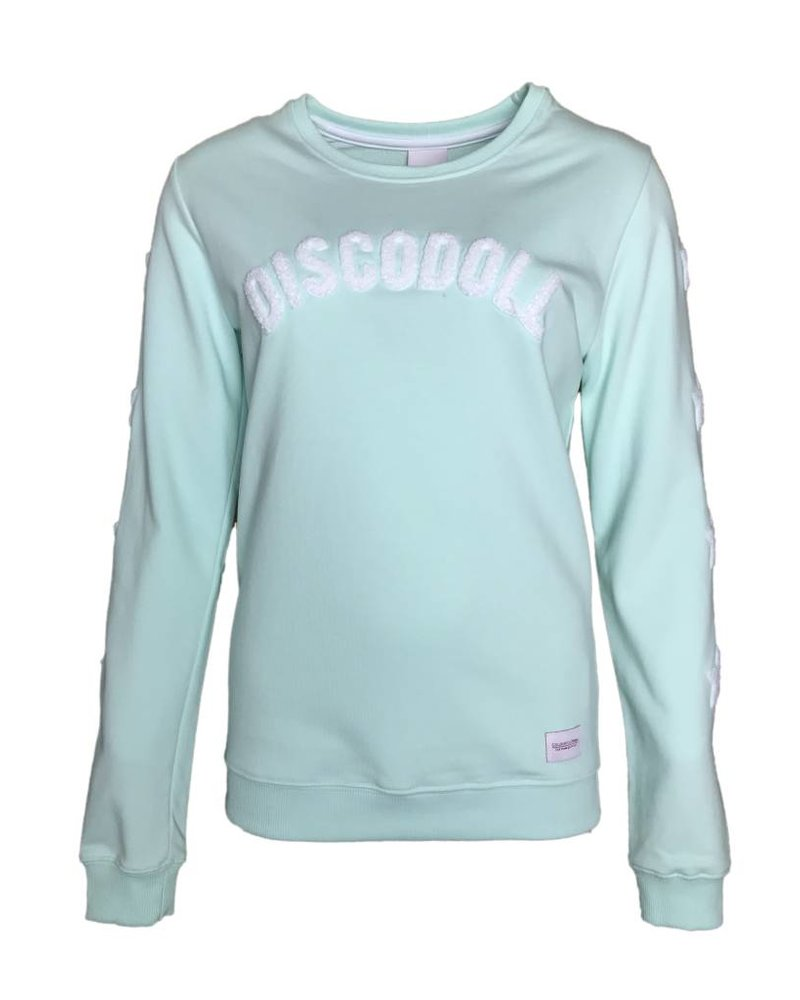 COLOURFUL REBEL DISCODOLL SWEATER mint