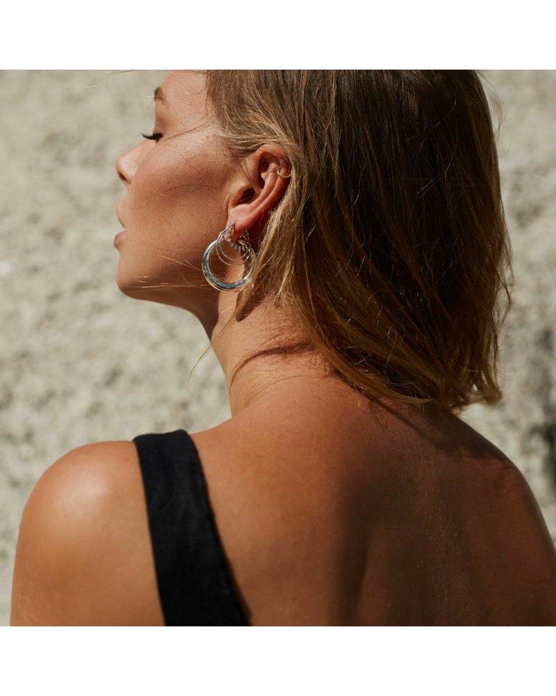 Eline Rosina DOUBLE HOOPS gold