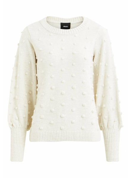 OBJECT BOUBLE KNIT nature