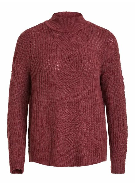 OBJECT SHILOH KNIT wine