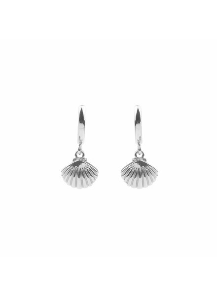 ATLITW SEA SHELL EARRING silver