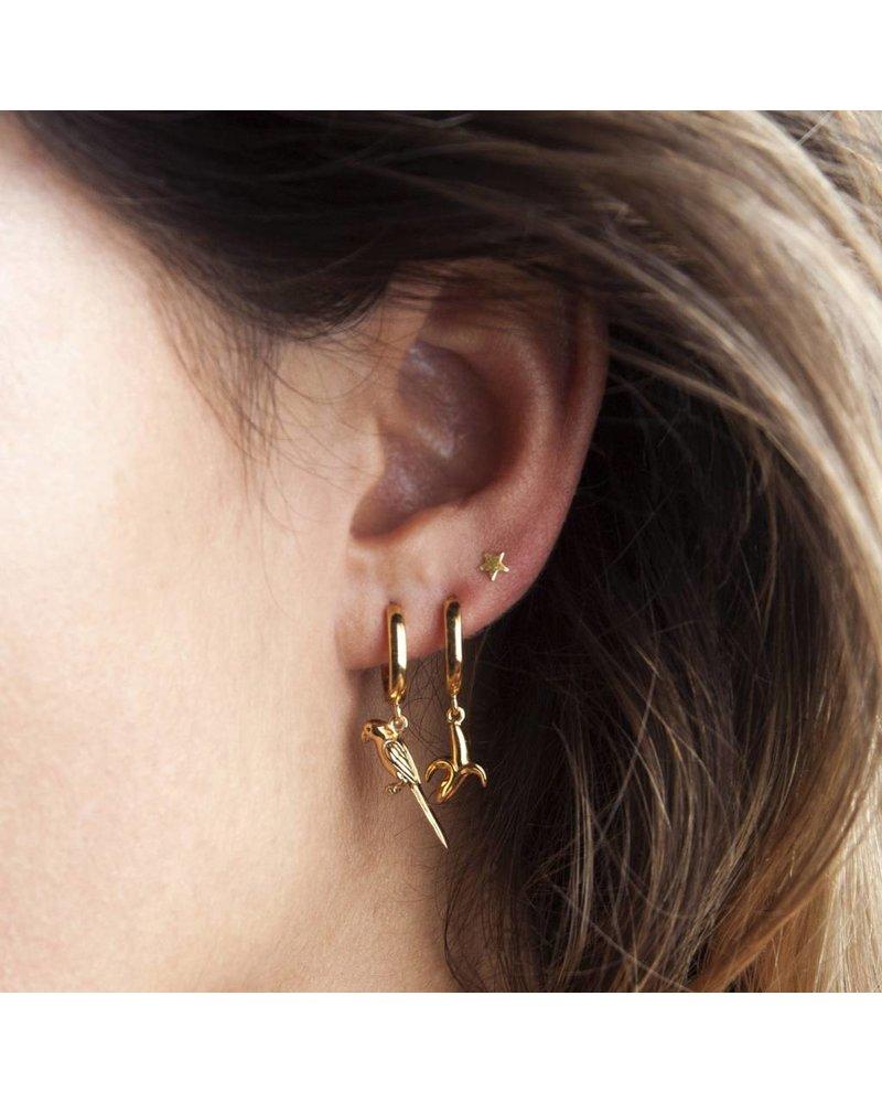 ATLITW BANANA EARRING gold
