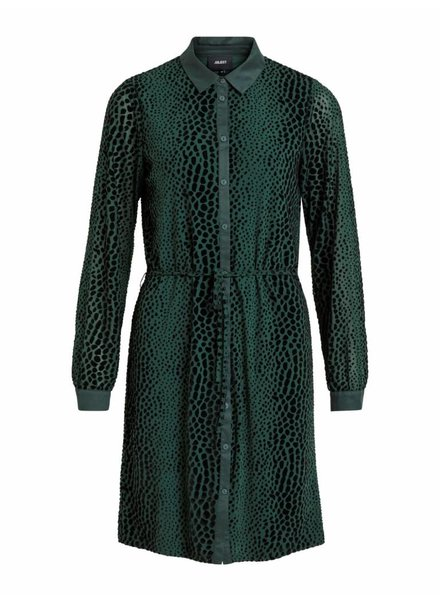 OBJECT LEAH DRESS green