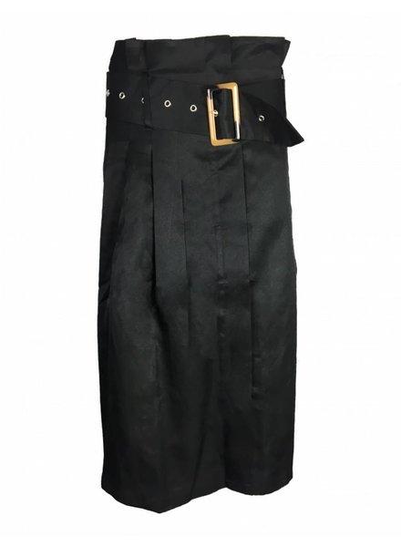 NA-KD PAPERBAG SK black