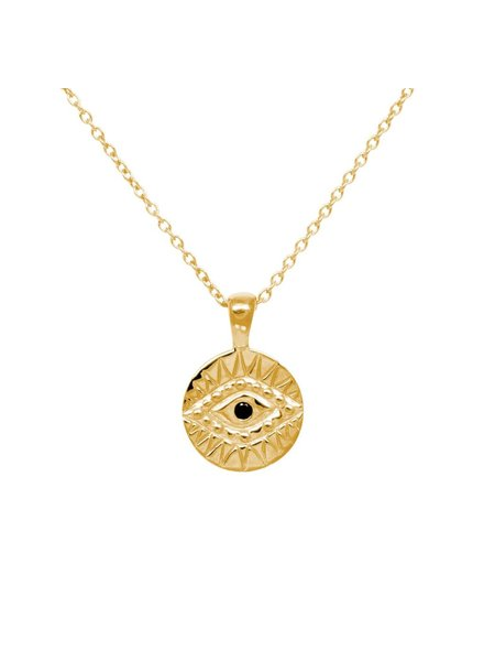 Eline Rosina ZIRCONIA EYE gold