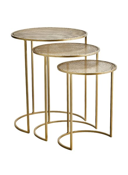 COFFEE TABLE brass S