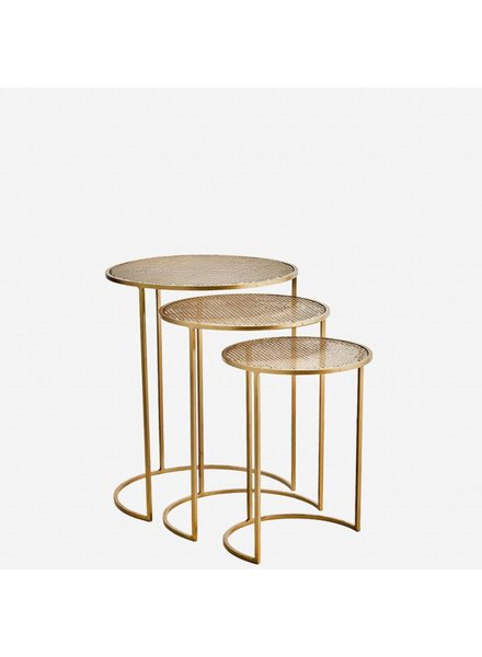 COFFEE TABLE brass M