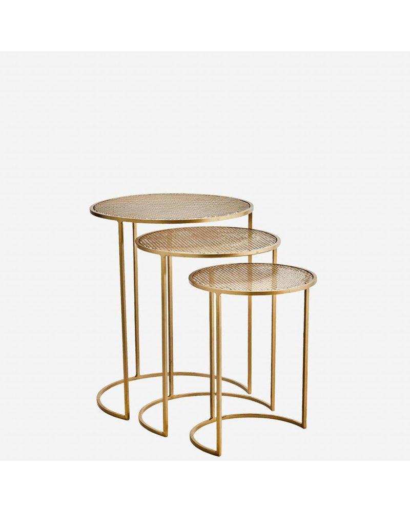 COFFEE TABLE brass M