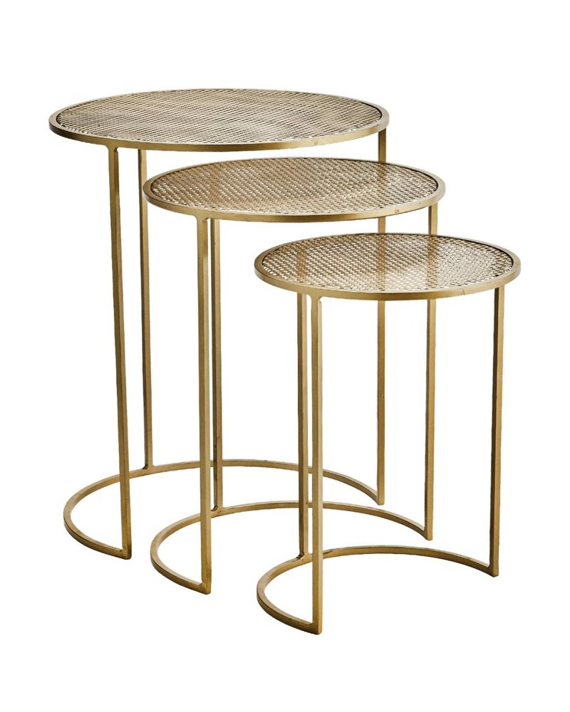 COFFEE TABLE brass L