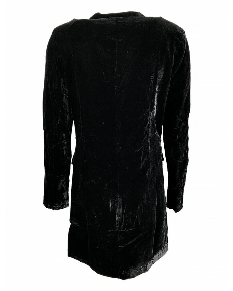 NA-KD BLAZER DRESS black