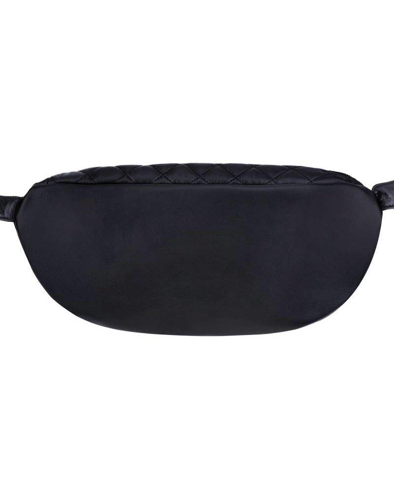 CHECK BAG black