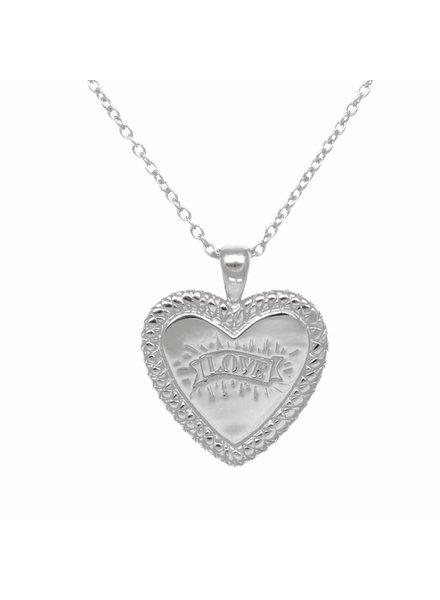 Eline Rosina SNAKE HEART silver